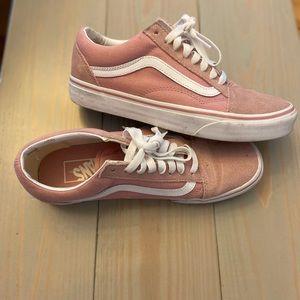 Dusty Pink Old Skool Vans